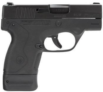 "Beretta JMN9S15 BU9 Nano Double 9mm Luger 3"" 6+1/8+1 AS Black Polymer Grip/Frame"