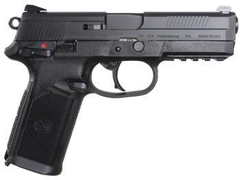 "FN 66960 45 ACP 4.50"" 15+1 MS Black Matte Black Stainless Steel Slide Black"