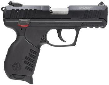 """Ruger 3600 SR22  22 LR 3.50"""" 10+1 Black Black Anodized Aluminum Slide Black Poly"""
