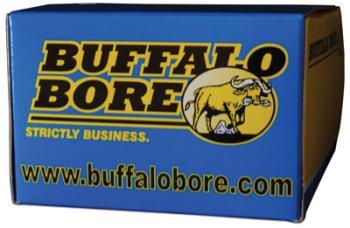 5117-0005 Buffalo Bore Ammunition 24B/20 Pistol   9mm Luger +P+ 124 GR Jacketed Hollow Poi