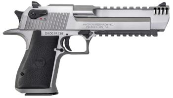 "Magnum Research DE50SRMB Desert Eagle Mark XIX with Muzzle Brake 50 AE 6"" 7+1 St"