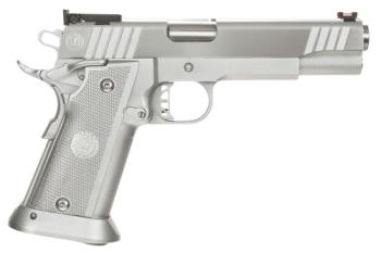 "BERSA 3176-0094 MAC M30SD40C Hard Chrome 3011 SSD SA/DA 40S&W 5"" 15+1 Aluminum Grip Chrome"