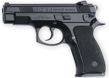 CZ-USA 91194 75d Compact Pcr 9mm 14rd Blk