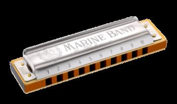 1896BX-F Hohner Marine Band Harmonica - F