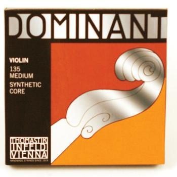 135 Thomastik 4/4 Violin Set Wound E String Ball End