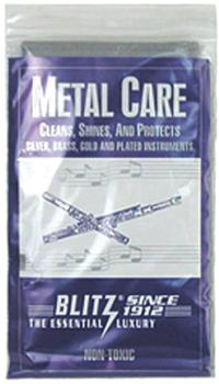 "Polish Cloth,Blitz Silver,""Metal Care"""