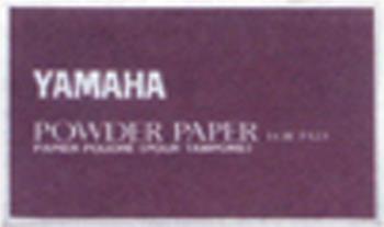 Yamaha 50 Piece Treated Pad Powder Paper YAC1112P