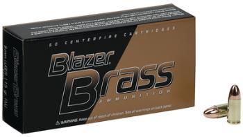 Federal 5207 Blazer Brass 357 Magnum 158 Grain Full Metal Jacket 50 Round Box