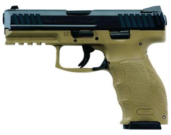 Heckler & Koch 700009FDELE-A5 VP9 Two Tone Fde/Blk LEO 9mm