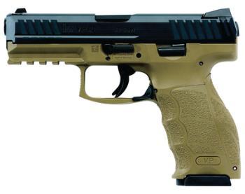 Heckler & Koch 700009FDELE-A5 VP9 Two Tone Fde/Blk LEO 9mm