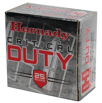 Hornady 90236 Critical Duty 9mm Luger 135 Grain FlexLock