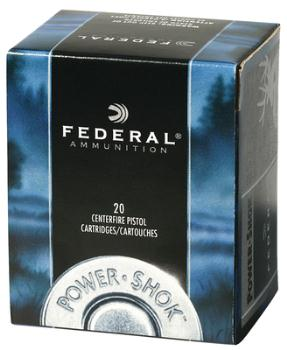 Federal C357G Power-Shok .357 Magnum 180 Grain Jacketed Hollow Point