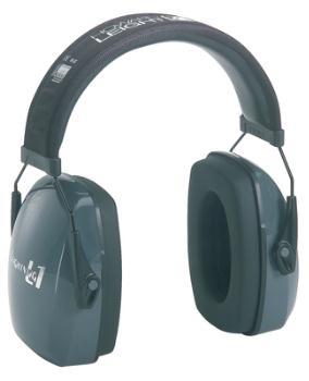 Howard Leight R01524 Leightning L1 Slimline Earmuff Black Headband with Light Gray Earcups