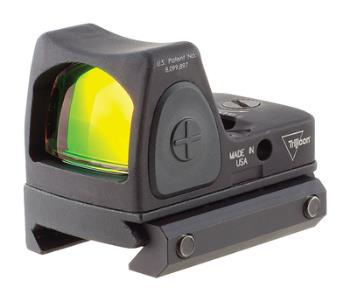 Trijicon RM06-C-700673 RMR Type 2 3.25 MOA red dot sight adjustable with picatinny rail mount