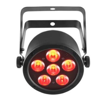 Chauvet SLIMPART6USB High Output LED RGB Washlight; D-Fi Compatible