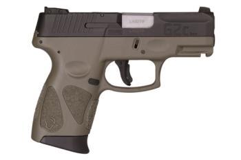 "Taurus 1-G2C931-12O G2C 9MM BLACK/ODGREEN POLYMER GRIPS 3.2"""