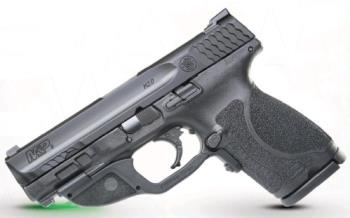 Smith & Wesson 12413 MP9 M2.0 CMPCT 9MM Green Laser Crimson Trace Green Laser