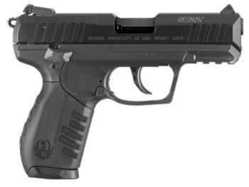 Ruger 03611 SR22 22LR semi auto hammer fired pistol SAO