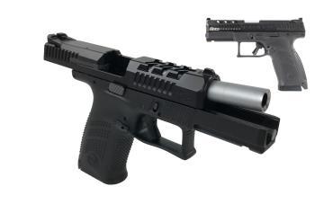 CZ-USA 91742 P-10 C 9MM BLK/NITRIDE CAJUN CAJUN GUNWORKS