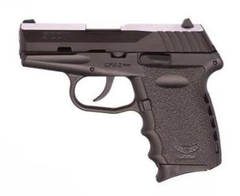 Sccy CPX-2CB CPX-2 9MM BLK/BLACK 10+1 BLACK POLYMER FRAME|NO SAFETY
