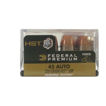 Federal P45HST2S PREMIUM PD 45 AUTO 230GR HST 20RD/BX