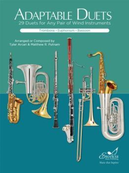 Excelcia Arcari / Putnam   Adaptable Duets for Trombone, Euphonium, and Bassoon