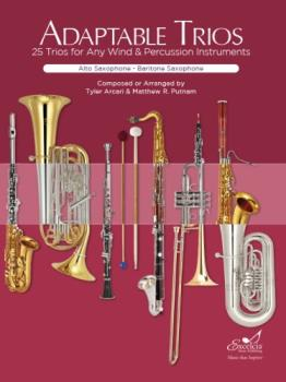 Adaptable Trios for any Wind or Percussion Instrument (Alto or Baritone Saxophone Book)